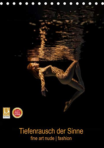 Tiefenrausch der Sinne (Tischkalender 2020 DIN A5 hoch): Fotokalender von Frauen unter Wasser (Monatskalender, 14 Seiten ) (C