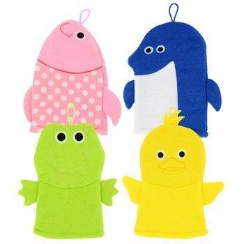 Toddler Bath Puppet Mitts (Duck Wash Mitt)