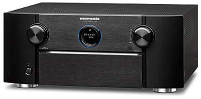 Marantz AV7705 11.2 Channel AV Audio Component Pre-Amplifier | IMAX Enhanced, Auro-3D & Dolby Surround Sound | Music Streaming via Wi-Fi, Bluetooth, AirPlay 2 & HEOS | Amazon Alexa Compatibility