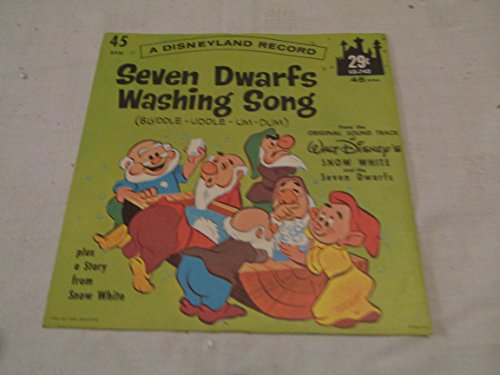 Seven Dwarfs Washing Song-a Story From Snow White Vinyl Record