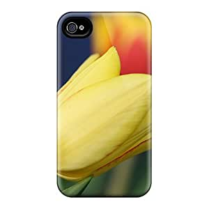 SaladCases Snap On Hard Case Cover Tulip Protector For Iphone 4/4s
