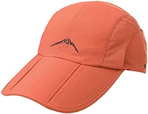 d1d5a03e0cae4 Fancet Unisex SPF Quick-Drying Running Baseball Cap Large Bill Sun Hat  55-61cm