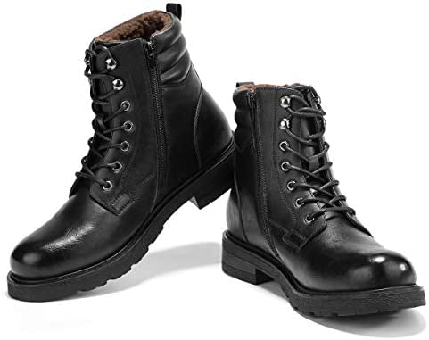 GM GOLAIMAN Mens/ Motorcycle/ Snow/ Dress/ Boots/ -/ Lace/ Up/ Zip/ Cap/ Toe/ Ankle/ Boot/ Military/ Tactical/ Work/ Combat/ Hiking/ Botas/ Invierno/ Hombre
