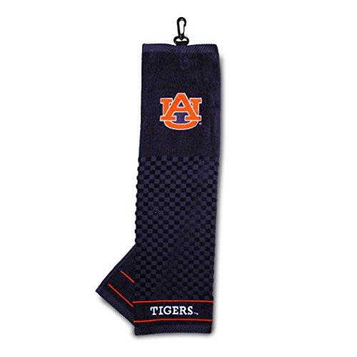 Auburn University Embroidered Golf - Towel Tigers Embroidered Auburn