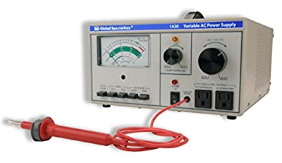 Global Specialties 1420 Variable AC Power Supply, 0-150 VAC, 0-3 Amp