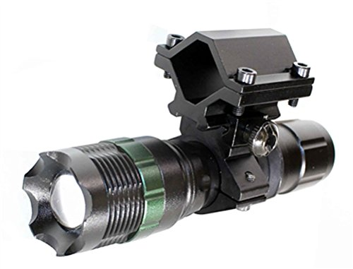 Single Flash Strobe (Hunting 300 Lumen Strobe Flashlight With Single Rail Mount For H&R 1871 Pump Shotgun.)