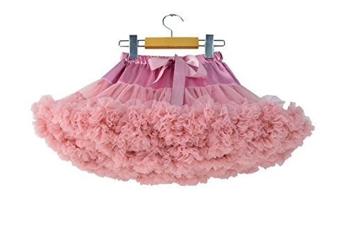 Storeofbaby Girl's Ruffled Dance Tutu Skirt Classic Costume Party Ballet,8-10 - Skirt Classic Ruffled