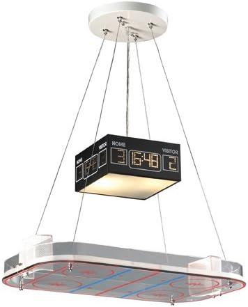 Elk 5138 2 2-Light Pendant in A Hockey Motif