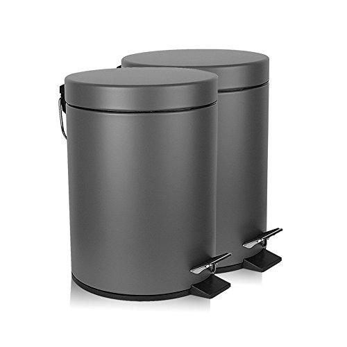 silver bullet trash can - 2