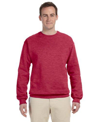Jerzees Mens Nublend Crew Neck Sweatshirt