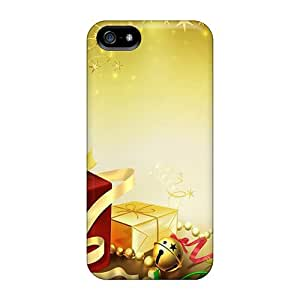 Durable Defender Case For Iphone 5/5s Tpu Cover(christmas Time)