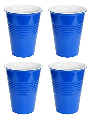 Fairly Odd Novelties Blue Hard Plastic Cup 20oz - 4 Pack