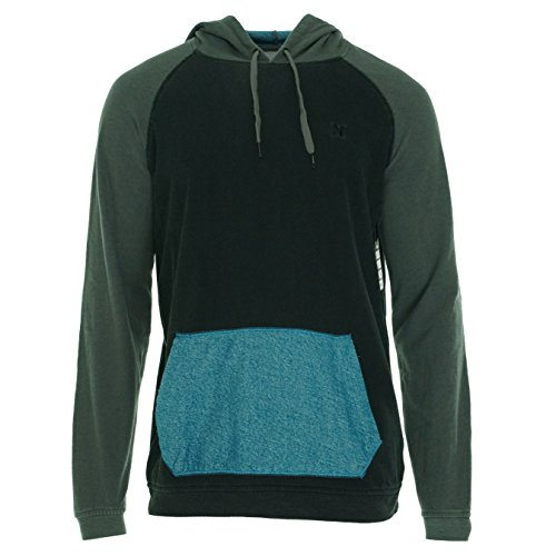 Hurley - Mens Superior Pull Hoodie, Size: Large, Color: Black