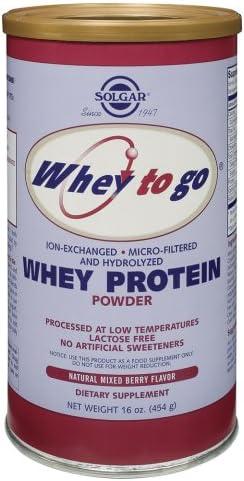Solgar – Whey To Go – Whey Protein Powder