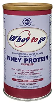 Solgar – Whey To Go – Whey Protein Powder