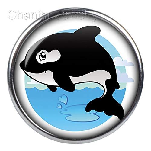 Baguio-Store - Dolphin snap button for DIY snap button bracelet