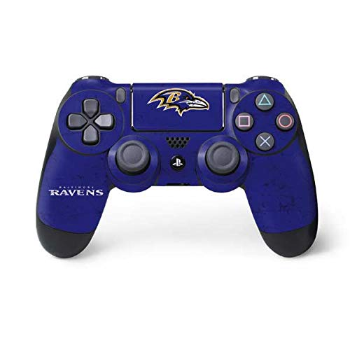 NFL Baltimore Ravens Distressed Skin for Sony PlayStation 4/ PS4 Dual Shock4 Controller
