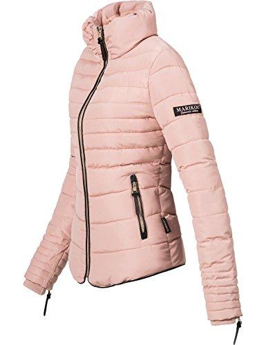 Rosa 10 Marikoo Da Colori Trapuntata Invernale Giacca xxl Donna Xs Amber Y1PxHvY