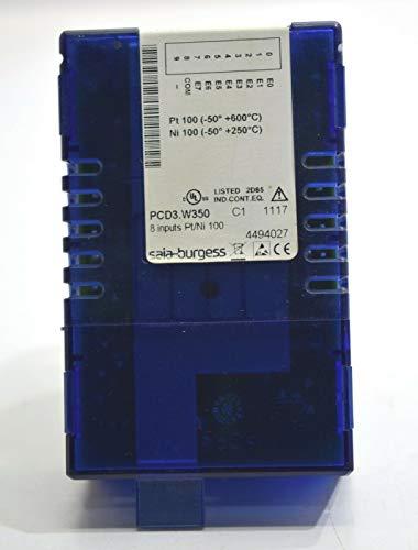 Saia-burgess PCD3.W350 Digital Analog Input Control Module 8 Input CHN R 12 Bits ()