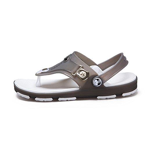 cinturino shoes posteriore Sandali Grigio con cinturino da caviglia 2018 Mens EU 44 Color con Dimensione alla uomo qYgUU5