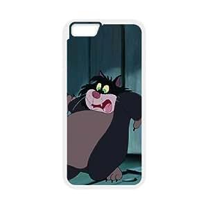 iPhone6 Plus 5.5 inch Phone Case White Cinderella Lucifer the Cat JHI2328158