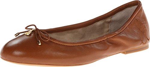 Sam Edelman Women's Felicia Ballet Flat, Saddle Leather, 7 M US