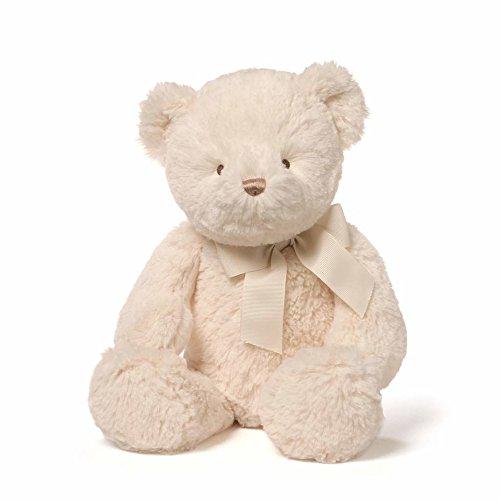 Gund Baby Peyton Stuffed Teddy Bear, (Cream Animal)
