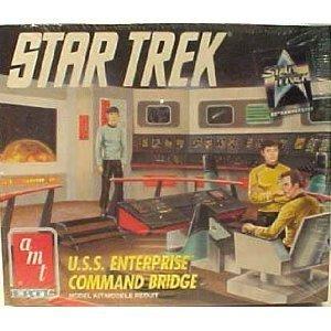 Enterprise Bridge Command - Star Trek AMT Ertl U.s.s. Enterprise Command Bridge Model Kit by AMT Ertl
