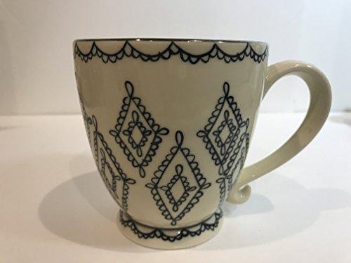 (Starbucks Coffee Barista 2002 Pedestal Footed Scroll Mug, 12 oz.)
