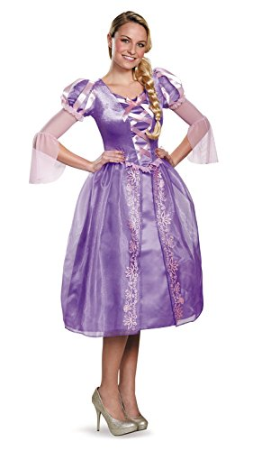 [Rapunzel Adult Clothing - Large] (Tangled Halloween Costumes For Adults)