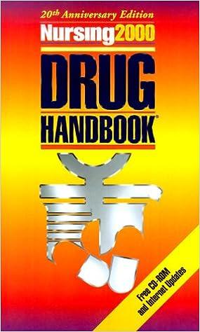 Pdb-Ebook-Datei herunterladen Nursing 2000 Drug Handbook (Nursing Drug Handbook) PDF
