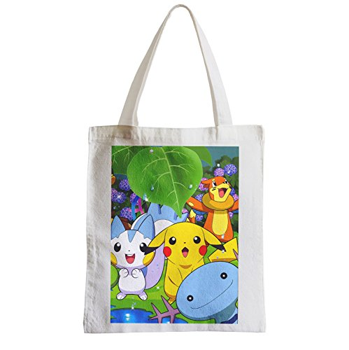 Shopping Etudiant Pikachu Pokemon Est Ses Fabulous Plage Sac Mignon Grand Amis ED92eWYHI
