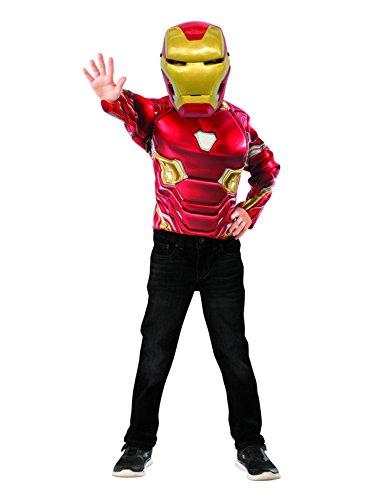 Iron Man Muscle Chest Shirt Set � Kids - Chest Man Muscle Iron