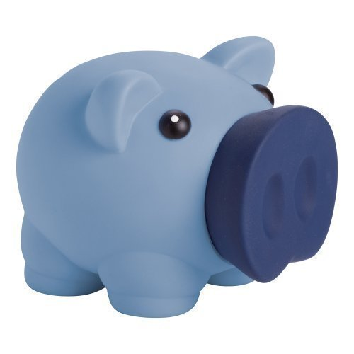 eBuy GB - Neuheit Sparschwein Spardose für Münzen & Noten - Kinder Spardose - Blau