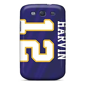 Durable Hard Cell-phone Cases For Samsung Galaxy S3 With Support Your Personal Customized Attractive Minnesota Vikings Series JasonPelletier