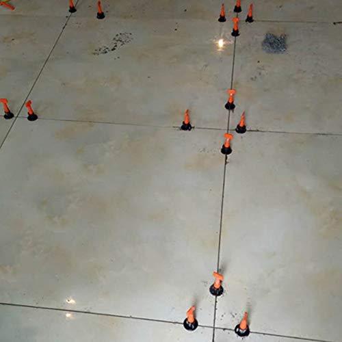 50 St/ück flach Delidraw Fliesen-Nivelliersystem Keramik f/ür Bodenwand wiederverwendbar