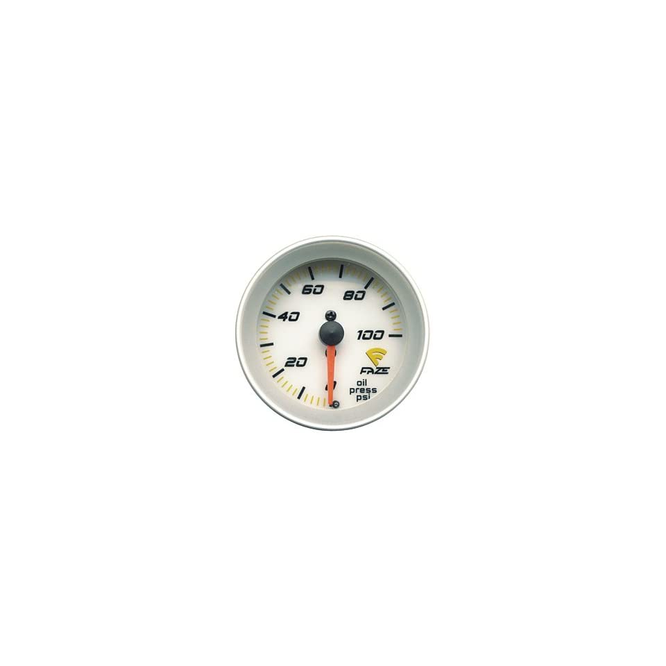 Faze 883101 Mechanical Oil Pressure Gauge