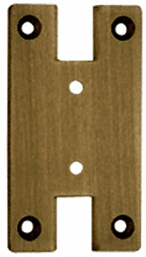 Crl Antique Brass Cologne - CRL Antique Brass Cologne 037 Series Wall Mount Full Back Plate