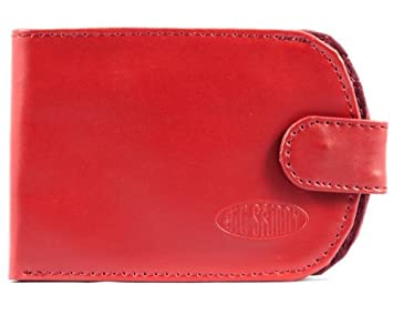 Big Skinny Womens Taxicat Leather Bi-Fold Slim Wallet ...