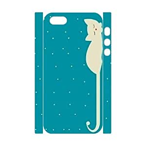 Custom New Case for Iphone 5,5S 3D, Cute Cats Phone Case - HL-R633936