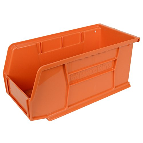 Akro Mils 11 Inch Plastic Storage Stacking