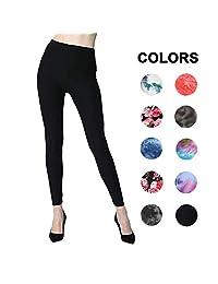 Extra Soft Leggings Women - High Waist Stretchy Workout Pants – Reg/Plus Size