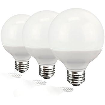 TCP Decorative Globe Vanity Light Bulbs, Round, G25, E26 Base, 40W  Equivalent