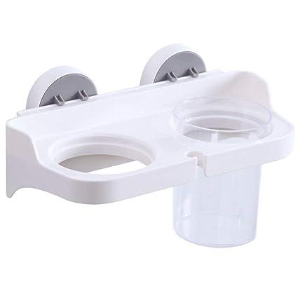 lkzwj Estante para baño Perchero Secador de Cabello en Rack ...