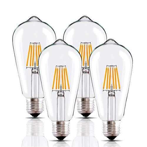 Clear 60 Watt Led Light Bulbs in US - 9