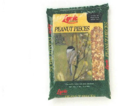Lyric Wild Bird Food Peanut Pieces,Peanuts 5 Lbs.