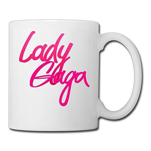 [DEMOO Lady Gaga LOGO Coffee Mugs / Tea Cups] (Gaga Dance Costumes)