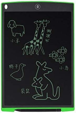 YKAIEET 子供のスマートタブレットカラースクリーンLCD LCD絵画落書きワードパッド12インチギフトおもちゃで描く光おもちゃ描画タブレット (色 : Green)