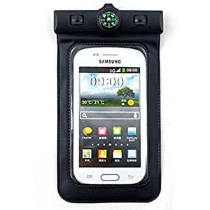 Universal PVC Waterproof Bag with Armband for Samsung --- COLOR:White