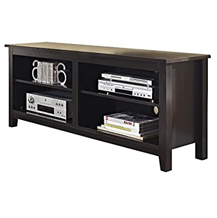 Exceptionnel TV Consoles For Flat Screens 60 Inch Entertainment Center   Media Stand  Furniture 4 Storage Shelves